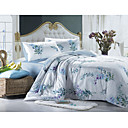 4-pc Charlotte Love Theme Cotton Full Size Duvet Cover Set(9S200007S)