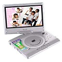 The Cheapest 7 inch Portable DVD multimedia Player with Swivel Screen (16:9)(SMQC027)