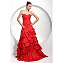 A-line Sweetheart Floor-length Taffeta Prom/ Evening Dress (FSD0260)