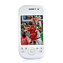 G2 Dual Card Quad Band Dual Camera Cell Phone White (2GB TF Card)