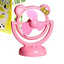 miroir cartoon ventilateur USB pour PC portable ordinateur portable (ceg222)