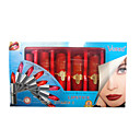 6 Colors VERRI Lipstick Set With Vitamin C - Red Packaging