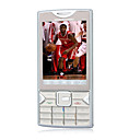 N9 doble tarjeta Bluetooth Touch Screen Phone msica de clulas grises y plata (tarjeta de 2GB TF) (sz05150471)