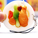 une nourriture exquise pendentif Key Chain Cell Phone Ring (ceg1021)