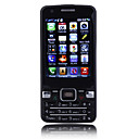 W901 Dual Card Dual Camera Quad Band WIFI TV Function JAVA Touch Screen Cell Phone Black (2GB TF Card)