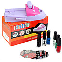 diy nail art vernis afdrukken in kleur machine kit