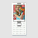 bonmi doble tarjeta Bluetooth Touch Screen FM agua prueba telfono celular negro (sz05150557)