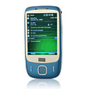 t3238 + windows mobile 6.1 wifi gps java bluetooth quad-band touch screen piatto elegante telefono cellulare blu (2GB TF card) (sz04580883)