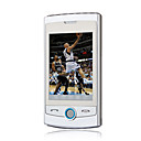 i518 dual Bluetooth Card fm pantalla tctil de plata del telfono celular (tarjeta de 2GB TF) (sz05150659)