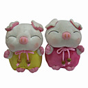 Lovely Plush Sleeping Piggy Stereo Speaker for DVD - AM - FM radio - MP3 (SMQ3474)