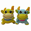 Lovely Plush Baby Cow Stereo Speaker for DVD - AM - FM radio - MP3 (SMQ3480)
