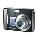 Ordro DC-890 10.0MP CCD 2.7 inch LTPS LCD Digital Camera 3X Optical Zoom 5X Digital Zoom (SMQ5637)