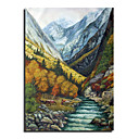 Hand Made landscape Painting - Free Shipping (0695 -LA-84)