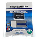 2gb memory stick pro duo carte mémoire et un adaptateur Memory Stick Duo