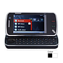 N97i Style QWERTY Keypad Quad Band Dual Card Bluetooth 3.2 Inch Touch Screen FM Slide Cell Phone (2GB TF Card)