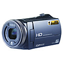 ORDRO HDV-D300 HD1080I 5.0MP CMOS 12.0 MP Enhanced Digital Camcorder with 3.0-inch Screen 5X Optical Zoom and 10X Digital Zoom