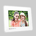 10moons DPF820 8-inch Digital LCD Screen Digital Photo Frame with Remote Control Music Video (DCE173)