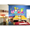 Kids autocollant de mur (0752-p6-30 (c))