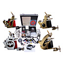 Livraison gratuite Kit Professionnel TATTOO MACHINE srie complte avec 4 mitrailleuses tatouage (0359-02.07-A010)