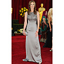 Kathryn Bigelow Trumpet / Mermaid Sweetheart Floor-length Sleeveless Satin Oscar/ Evening Dress (FSM0651)