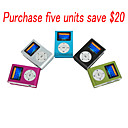 1GB Fashion Deisgn OLED MP3 Player With FM Function /5 Color/5 Pieces Per Package