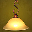 Antique Bronze Single Light Chandelier(0810- 2032-1B)