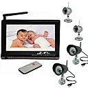 7 Inch Baby Monitor (Night Vision, 2.4GHz, 4 Channel)