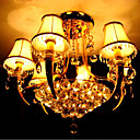 Chrome 9-light  Crystal Chandelier(0860-HQ6823-6+3)