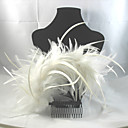Gorgeous Feather Wedding Bridal Pins/ Flowers