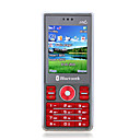 S210 Quad Band Dual Card JAVA Bluetooth Flashlight Magic Voice Cell Phone Red (2GB TF Card)