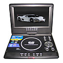 7.5-inch Portable DVD Player with TV Function, USB Port and 3-in-1 Card Reader and Game (TRA-295)