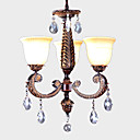 Antique 3-light Iron Chandelier(0897-MD8001-3+011)