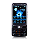 C9000 WIFI JAVA Dual Card Bluetooth Dual Camera FM TV Touch Screen Cell Phone Black (2GB TF Card)