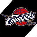 Cavaliers NBA tonnant badge autocollant rflchissant moto - 20cm (szc5094)