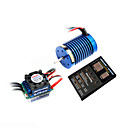 ezrun motor brushless rc carro e 3in1 esc poder 13t combo (h270541205543)