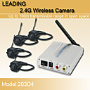 2.4G Wireless Receiver System Suitable for Monitoring Children and Elders