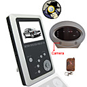 2.5 Inch TFT LCD 2.4GHz Motion Detection Wireless DVR Baby Monitor Kit and Remote control Car tire Camera Kit(SFA1054)