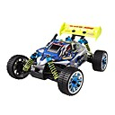 1/16tel Skala 4WD Nitro Gas Off-Road Buggy blau und silber (powered tpgb-1675bs)