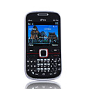 I6 Pro Dual Band Dual Card JAVA Bluetooth Cell Phone Black(2GB TF Card and Dynamo Charger)