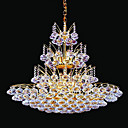 Electrophoresis Gold K9 Crystal 12-light Ceiling Light(0946-OL-483)