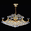 Electrophoresis Gold K9 Crystal 6-light Ceiling Light(0946-OL-380)