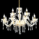 Candle 8-light K9 Crystal Chandelier(0944-HH11002)