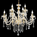 Candle 8-light K9 Crystal Chandelier(0944-HH11022)