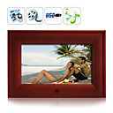 7 Inch Wooden Digital Photo Frame and Media Player(DPF012)
