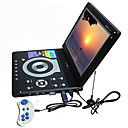 12.3 inch Portable DVD Player with TV Function USB Port 3 in 1 Card Reader Games and Computer LCD Display