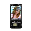 E73 Dual Card Dual Camera TV WIFI JAVA 3.0 Inch Cell Phone Black(2GB TF Card)