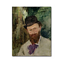 Handmade Portrait of Edouard Manet(1832-83)circa 1880 Painting  by Edouard Manet (0192-YCF103748)