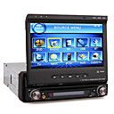 7 &quot;motorisierte Touchscreen 1-DIN-Car DVD-Player-abnehmbares Bedienteil-RDS-ipod-bluetooth-tv (szc6163)
