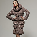 Special Design Lapel Long Sleeves With Belt Coat / Women's Coats (FF-B-BK0736203)