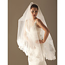1 Layer Chapel Length Wedding Veil 270cm length